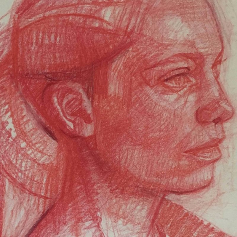 Exhibition: Gareth Reid, Portrait Drawings