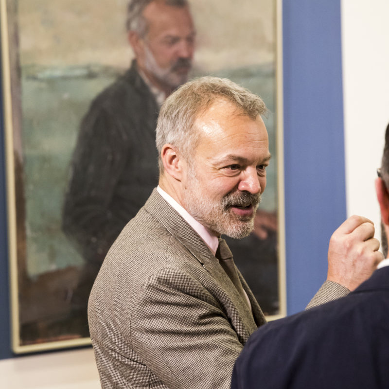 Photographs from the Graham Norton portrait unveiling at the National Gallery of Ireland.